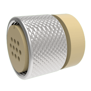 MS Series Vacuum Side Connector, 10 pin, 1000V, 5A,