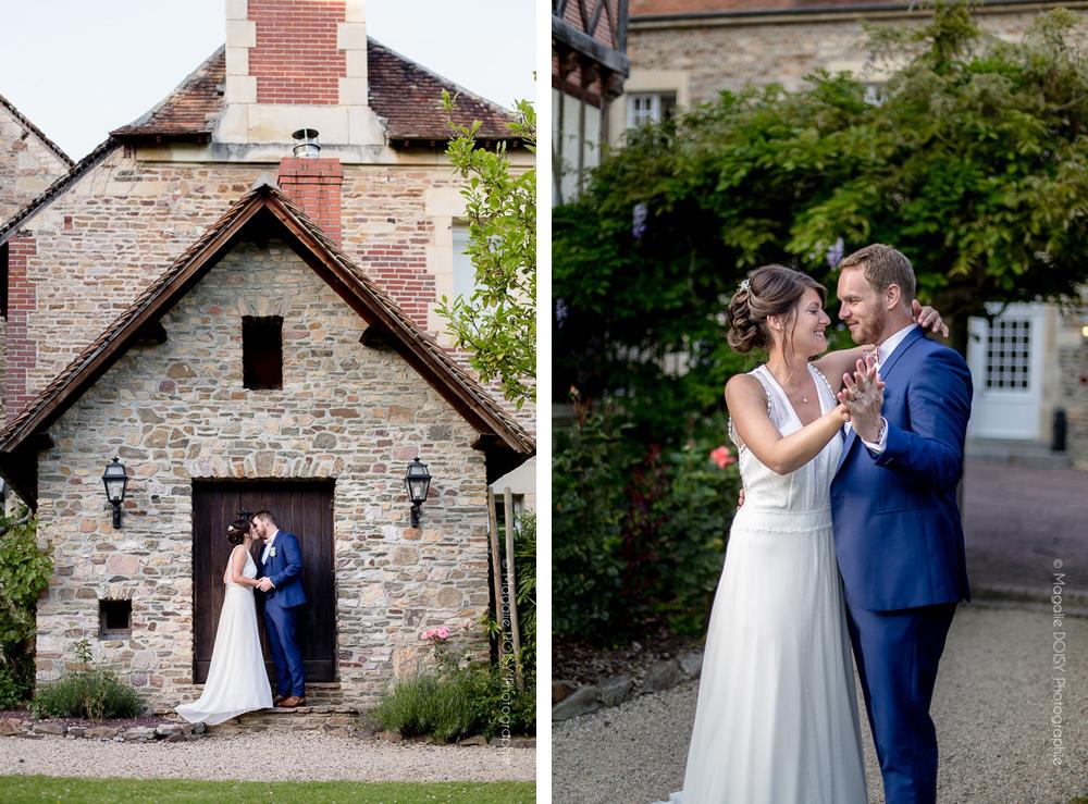 Photo de couple au Moulin de Bully