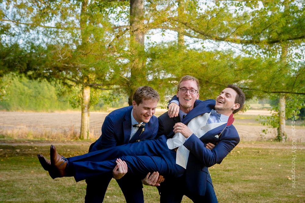 photos de groupe pendant votre mariage