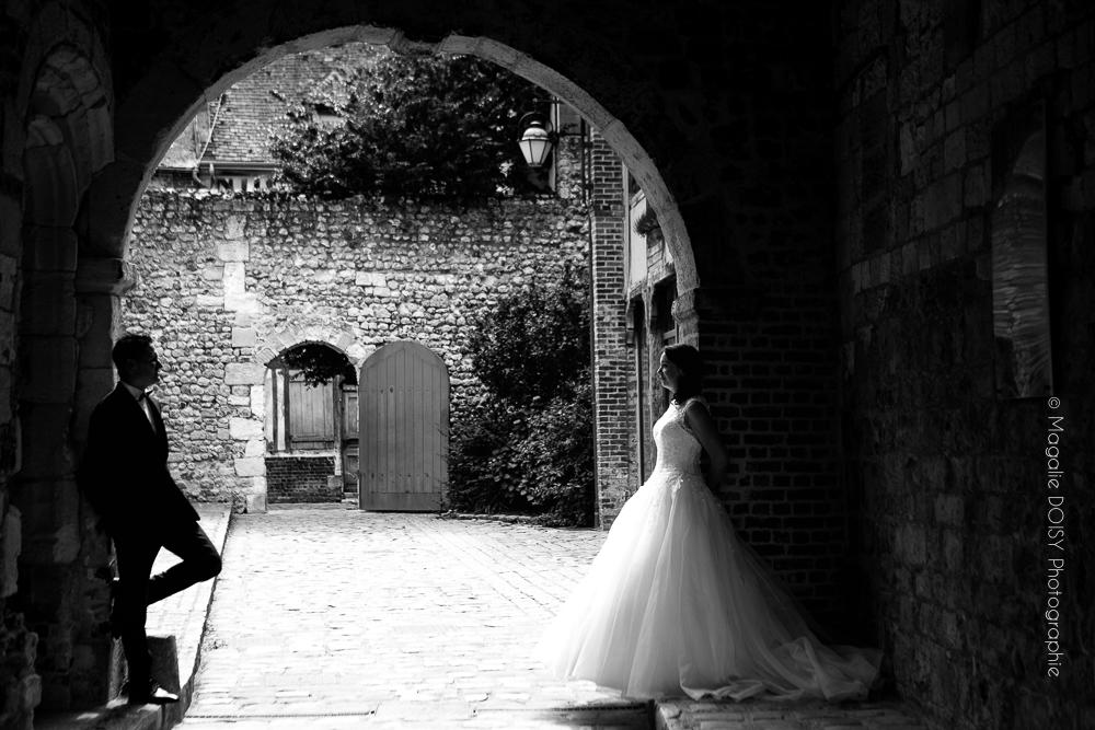 Mariage séance couple à Honfleur