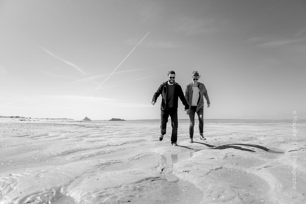 Séance engagement dans les dunes du Bec d'Andaine