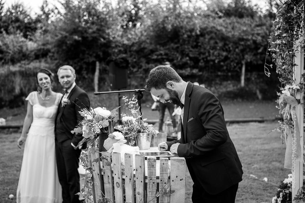 Photographe cérémonie civile normandie