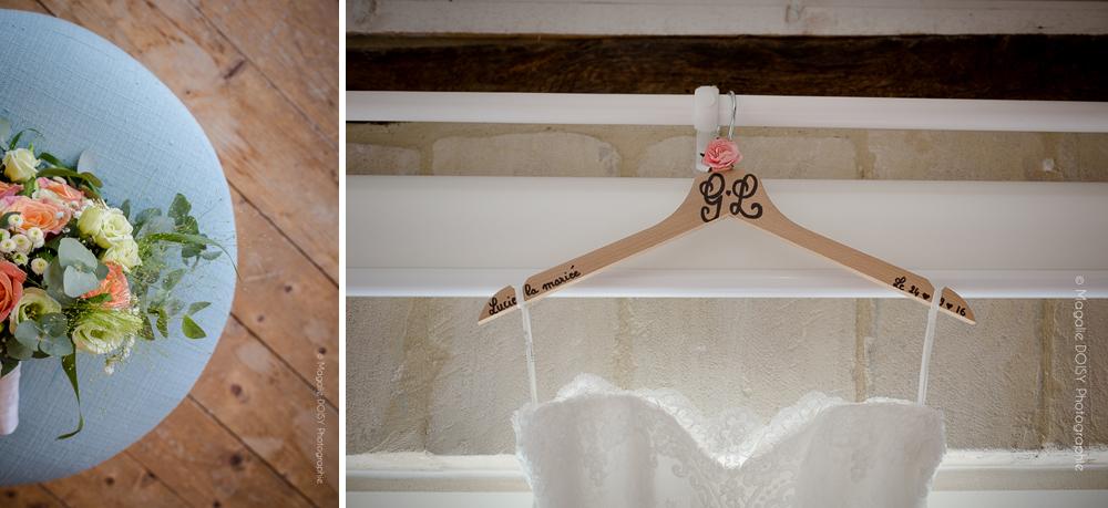 Préparatifs mariage Colombier du Manoir Bayeux