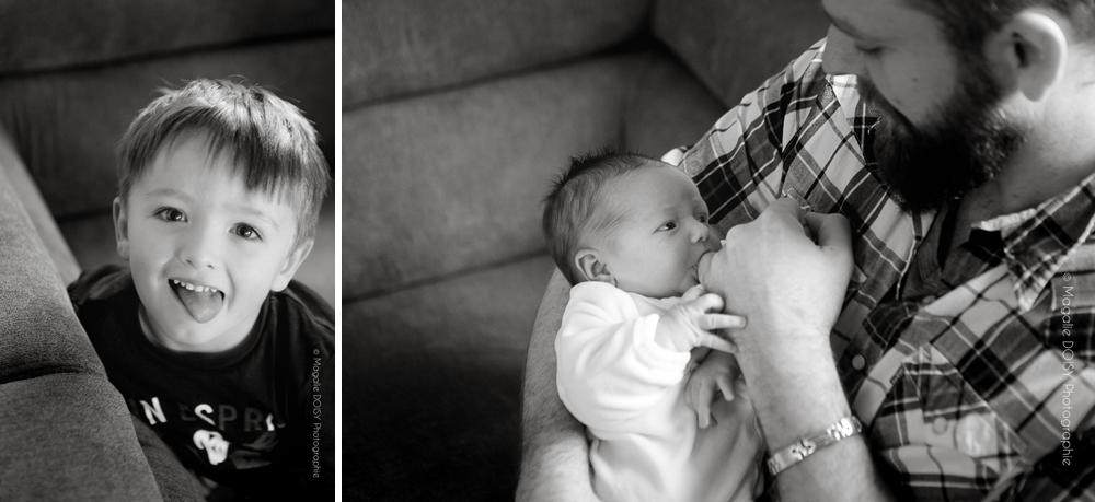 Photographe Caen séance photo bébé à domicile