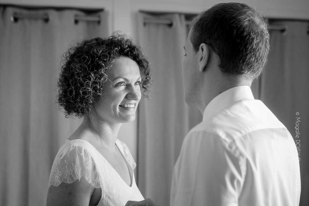 Photographe mariage Caen préparatifs des mariés