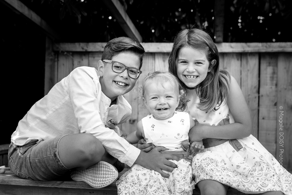 Une séance photo, un excellent cadeau à se faire en famille