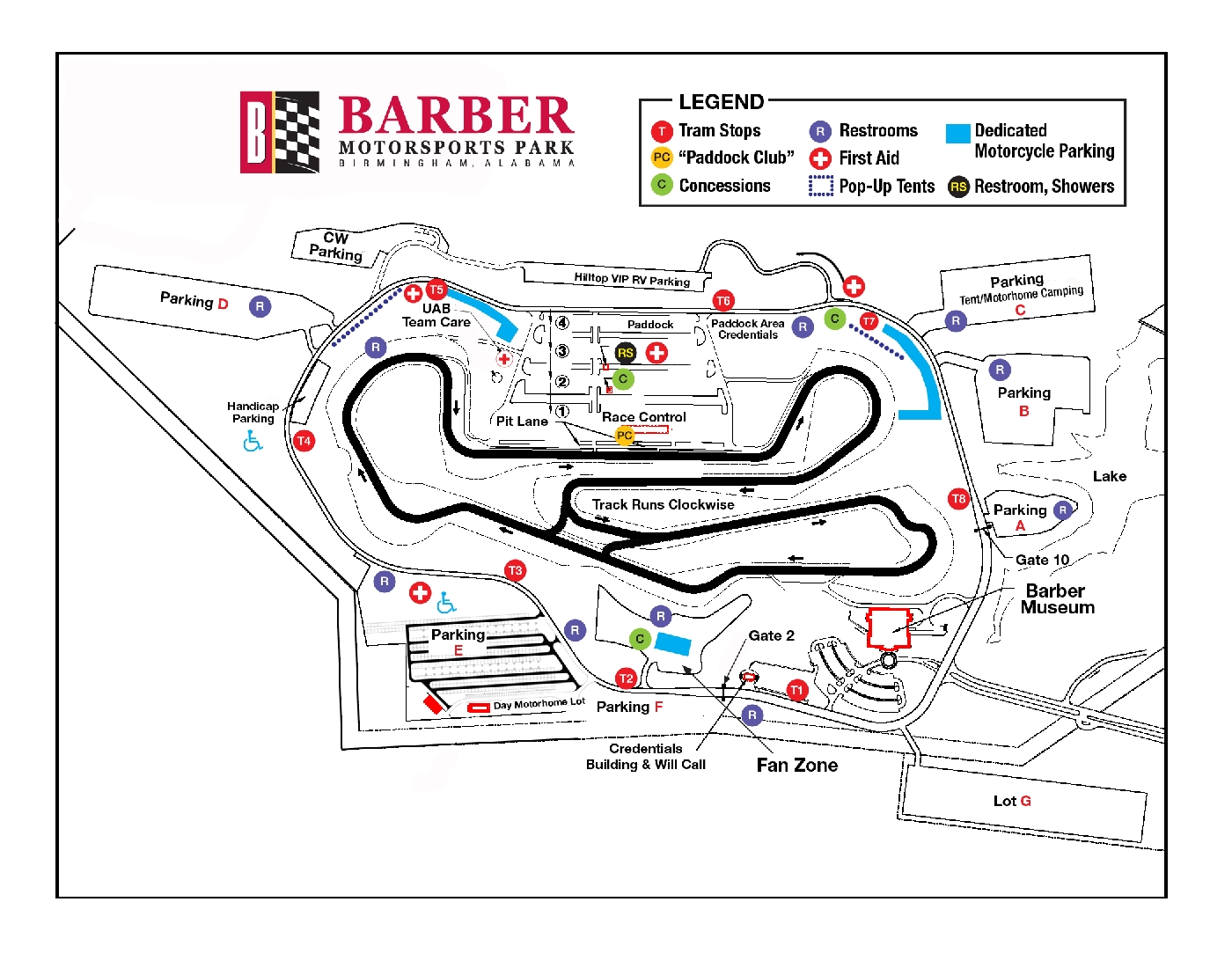 Barber Motorsports Track Layout In Its Th Year Barber