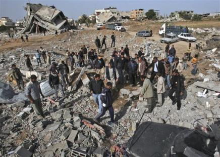 Gaza - destruction