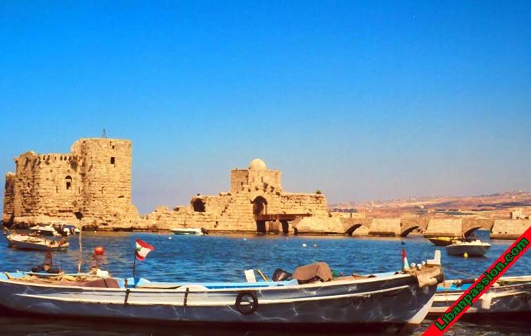 Mer Liban peche