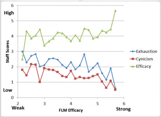 FLM Efficacy Graph