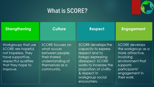 SCORE Overview1