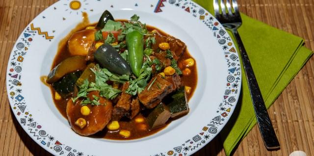 Chili-Rindfleischtopf