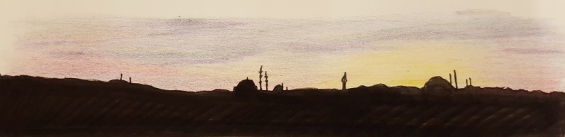 Sunset on the Bosphorus
