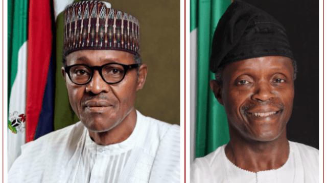 Buhari-and-osinbajo President, Muhammadu Buhari & VP, Yemi Osinbajo Declare Assets