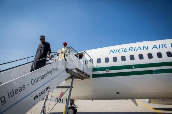 110 President Buhari Arrives Germany For G7 Summit | Photos