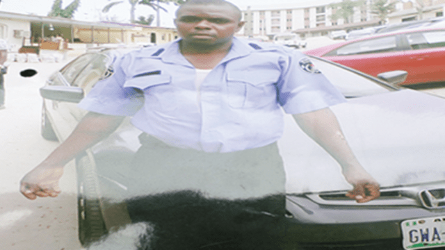 Oliver-Dike Driver to Assistant Inspector General Arrested for Armed Robbery