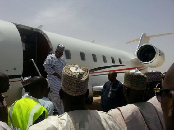 PLANE-2 First Commercial Flight Lands in Maiduguri Int'l Airport after Shutting Down 2years Ago