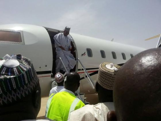 PLANE First Commercial Flight Lands in Maiduguri Int'l Airport after Shutting Down 2years Ago
