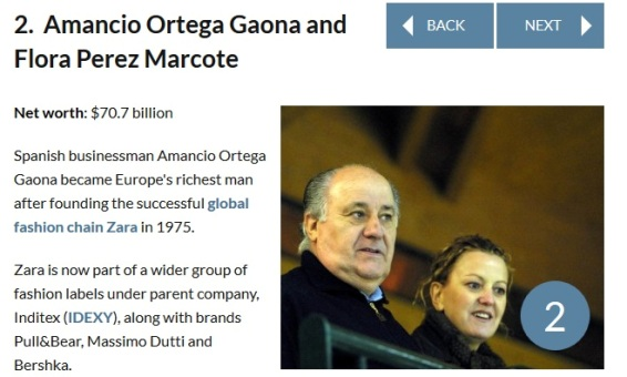 22 Ever Heard of the World's Wealthiest Couples?? Meet the First 10 | Photos