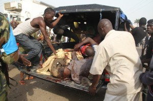 BombemplosioninKaduna Government Lodge in Zaria, Kaduna Suffers Bomb Blast