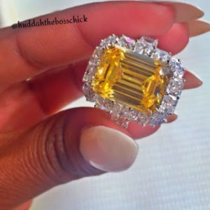 huddah-2 Boyfriend gives BBA's Huddah Monroe with Diamond Ring Worth N360m