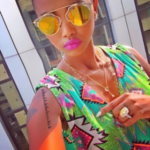 huddah Boyfriend gives BBA's Huddah Monroe with Diamond Ring Worth N360m
