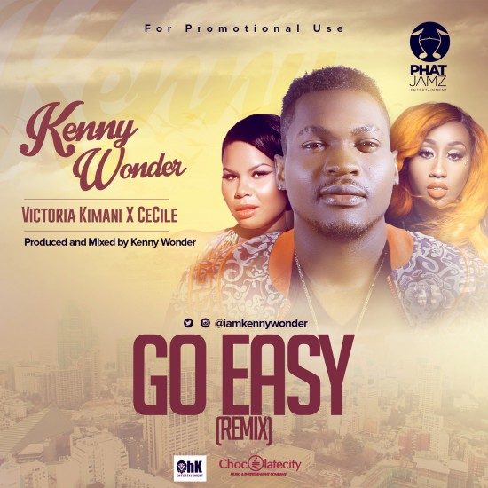 kenny-Go-easy-Remix- Download MP3: Kenny Wonder [@iamkennywonder] – Go Easy [remix] ft. Victoria Kimani x Cecile