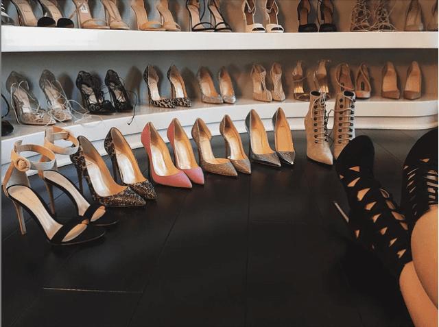 kyle-jenner A Sneak Peek into Kylie Jenner's Shoe Closet