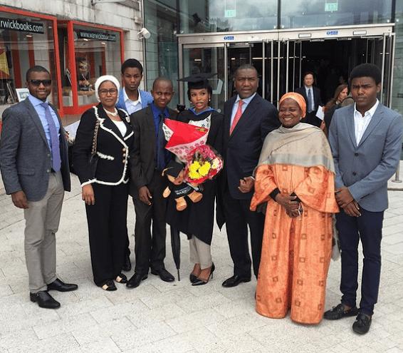 wpid14719-2 Photos: Dangote's daughter graduates from UK University