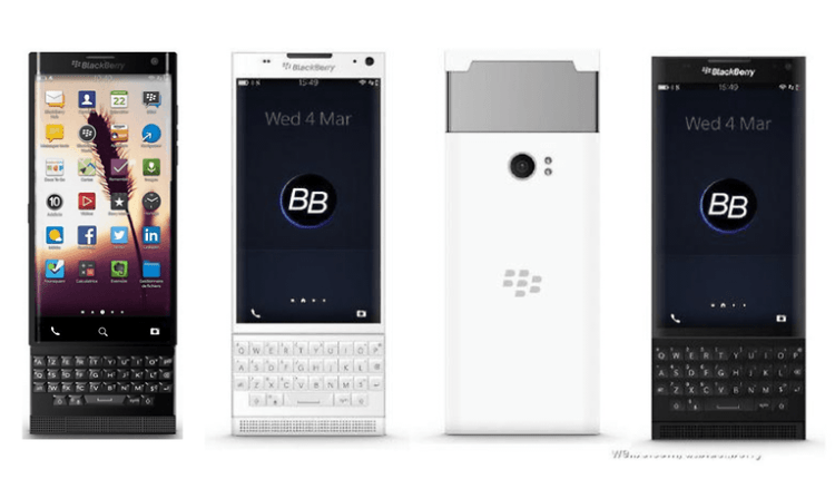 Blackberry Venice; Android Marshmallow, 18MP Camera with Full Screen/QWERTY Flip Pack