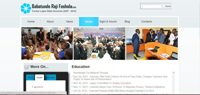 Doc2 Document Shows Former Gov. Fashola Upgraded Personal Site with N78.3
