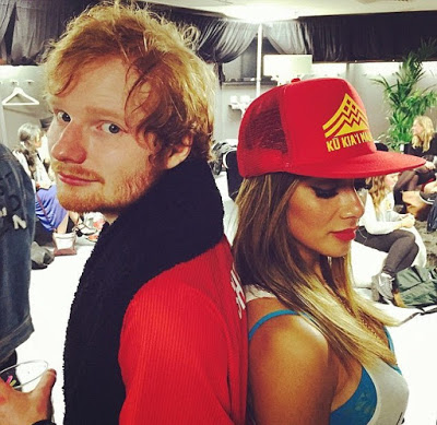 Nicole_37_and_Ed_24 Nicole Scherzinger moves to 24yr old singer, Ed Sheeran, after break up with Lewis