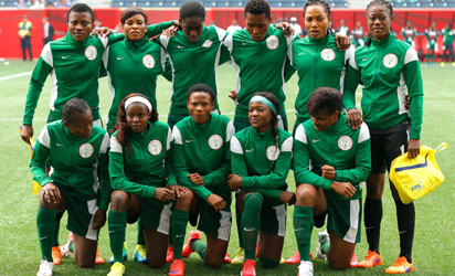 Super-Falcons1 Nigerian Football: Falcons Fall Out of Olympics as Siasia's Men Enjoy Victory