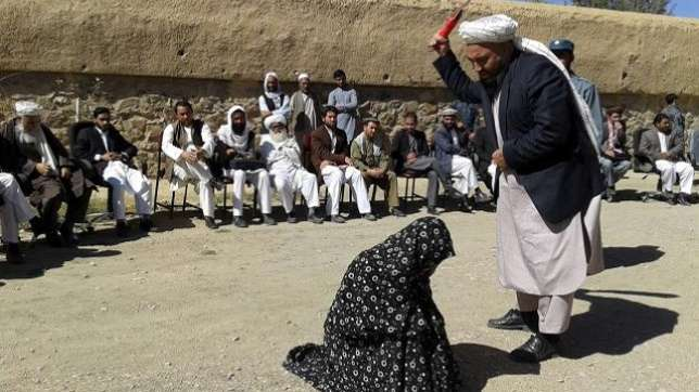 Woman Receives 100 Strokes Publicly For Committing Adultery-2644