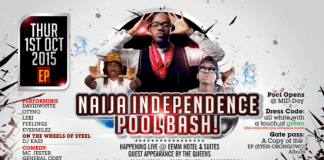 Grand Empire Entertainment x EEMJM Presents NAIJA INDEPENDENCE POOL BASH With SAGAS
