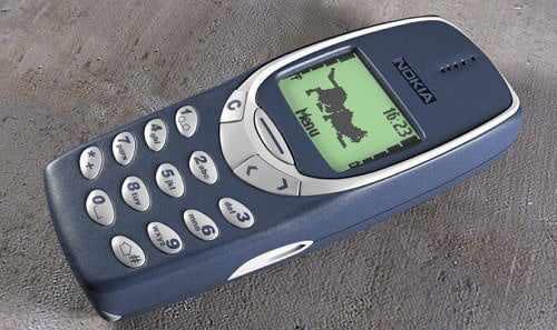 nokia-3310 The Popular Nokia 3310 was 15yrs old Yesterday