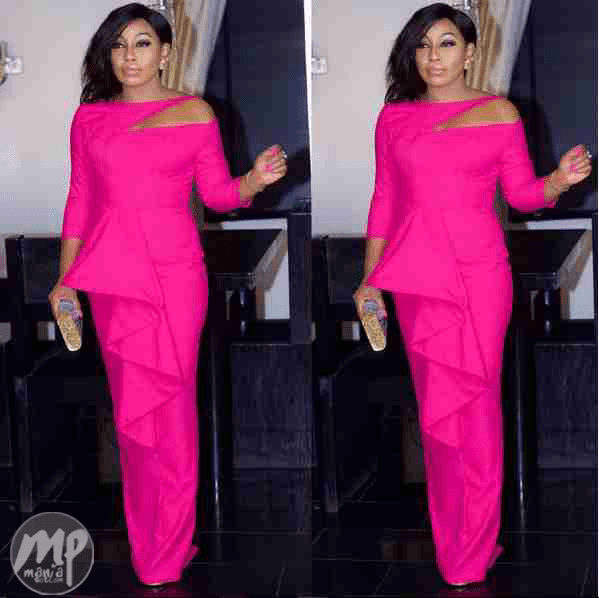 wp-1469255481999 Checkout Rita Dominic as she dazzles in pink (Photo)