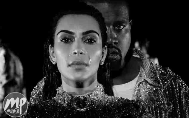 wp-1469881827196-1 Kanye West and Kim Kardashian seen crying in Wolves music video