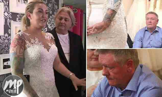 wp-1469882162764-1 See Moment Bride's father discovers daughter's hidden tattoo (Photos)