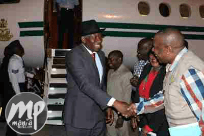 wp-1470480997848-1 See Photo of Goodluck Jonathan arriving Lusaka International Airport