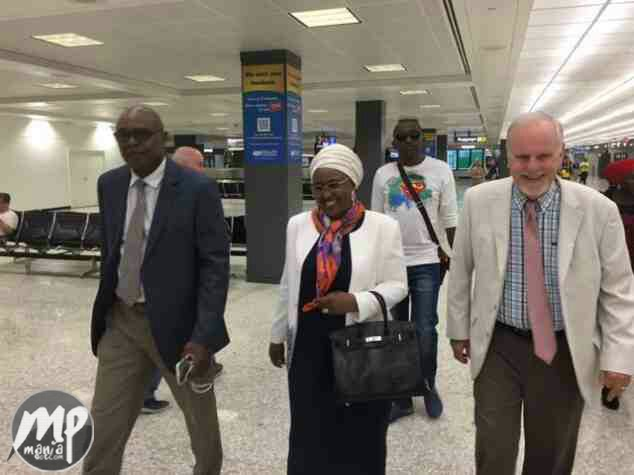 wp-1470725650121-1 PDP: 'Mrs. Buhari didn't go to US, Here Pictures Were Photoshopped'