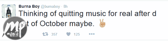 wp-1471502565941-1 Burnaboy wants to quit music, See when...
