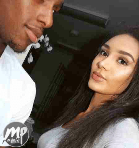 wp-1471619021482-1 Adorable new photo of Alex Iwobi and his stunning girlfriend, Clarisse