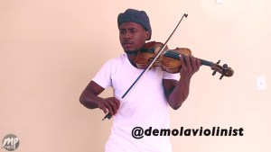 DEMOLA-VIOLINIST-PICTURE-300x169 Interview With Fast Rising Artiste Demola The Violinist