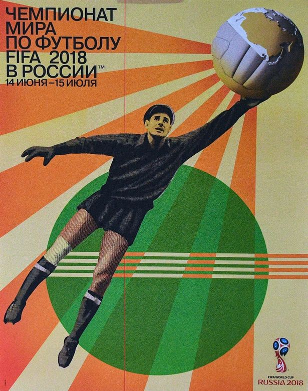 Football Fans Show support as FIFA unveils official World Cup 2018 poster