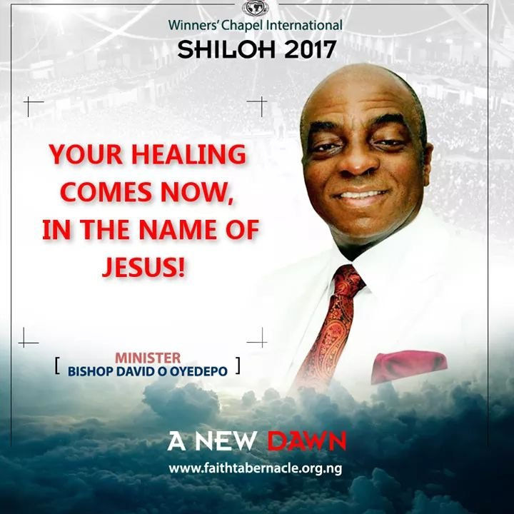 #Shiloh2017: A New Dawn - Message in Text (Day 1)