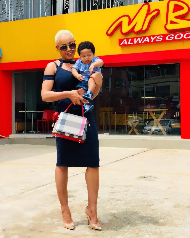 #BBNaija's Nina Goes Blonde on Low Cut (See Photos)