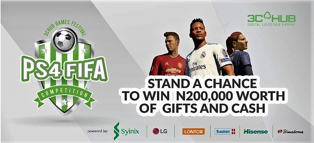 Win N200k at the 3CHub Games Festival in 2018