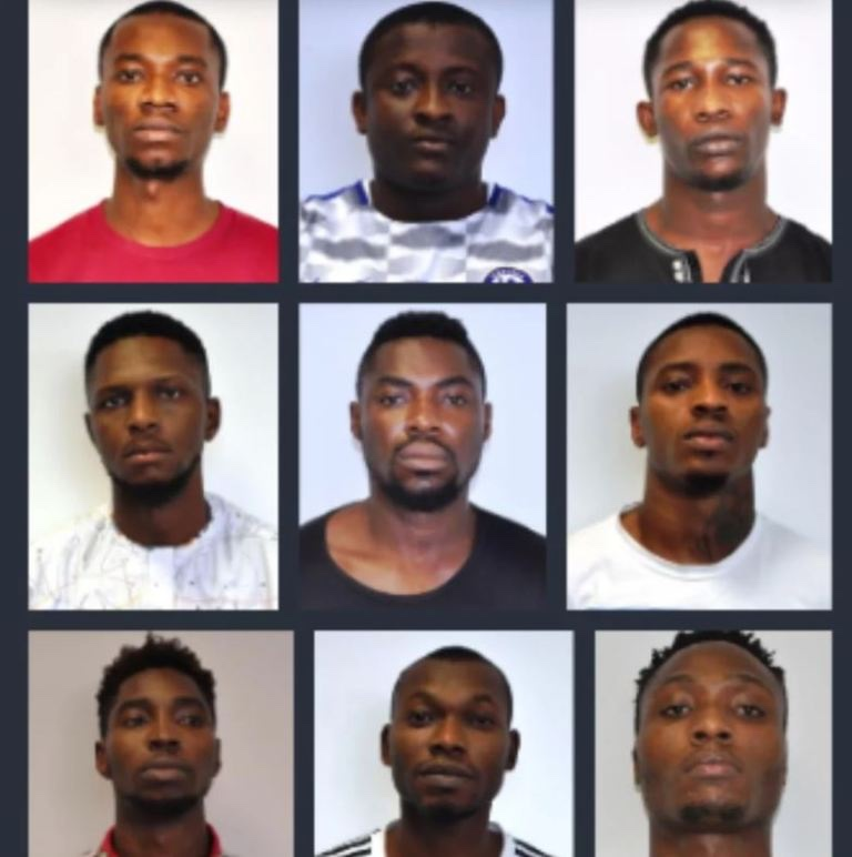 EFCC Arraigns 9 Suspected Yahoo Boys in Abuja
