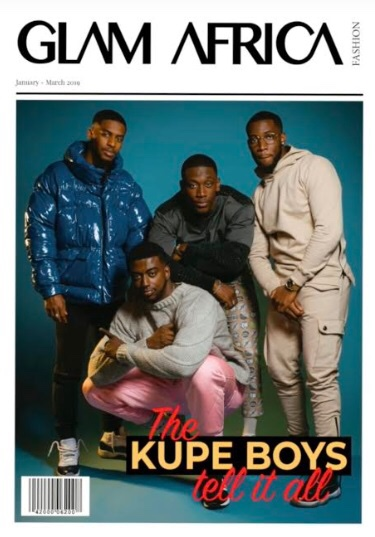 Kupe Boys Cover Glam Africa Magazine For Valentine's Day